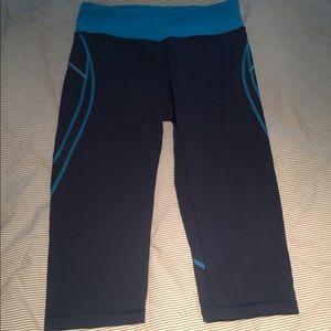 Tekgear workout pants. Blue size M